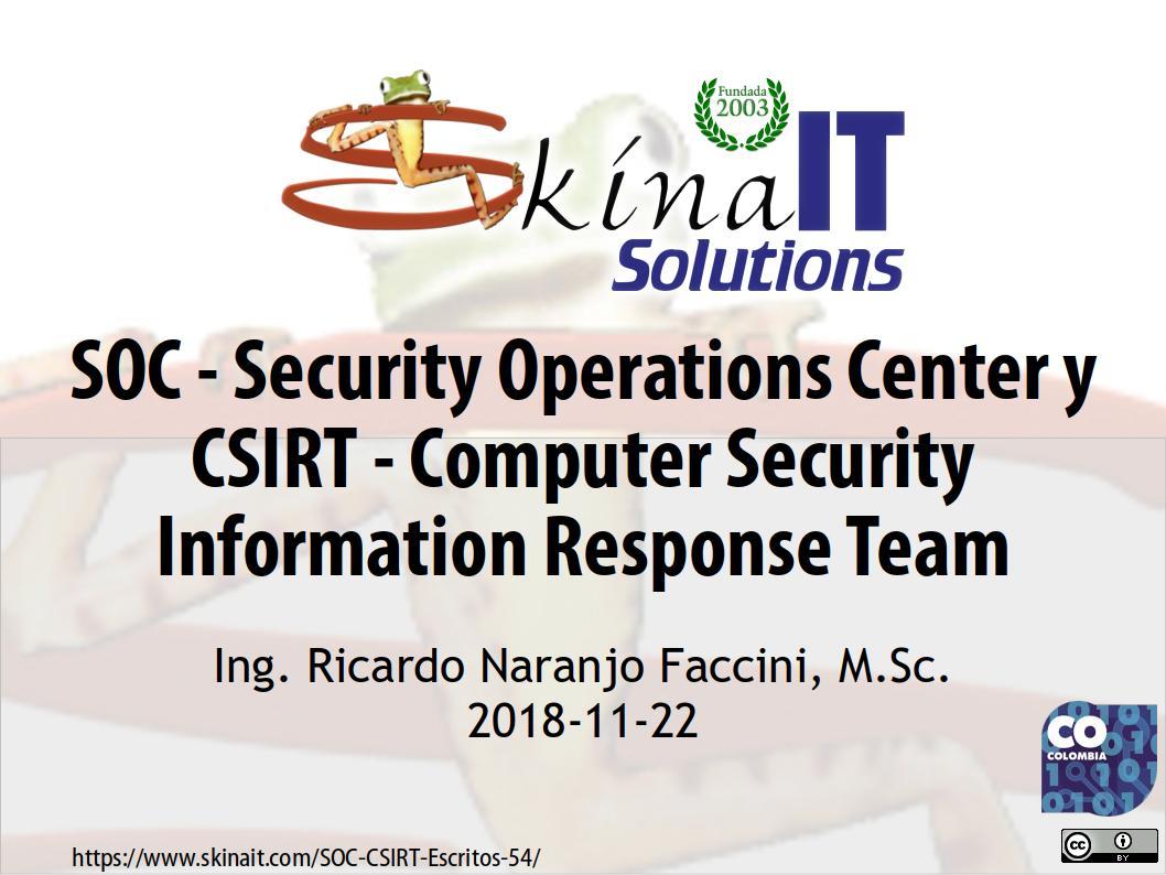 SOC-CSIRT