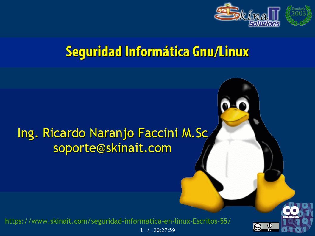 Seguridad informática en Linux